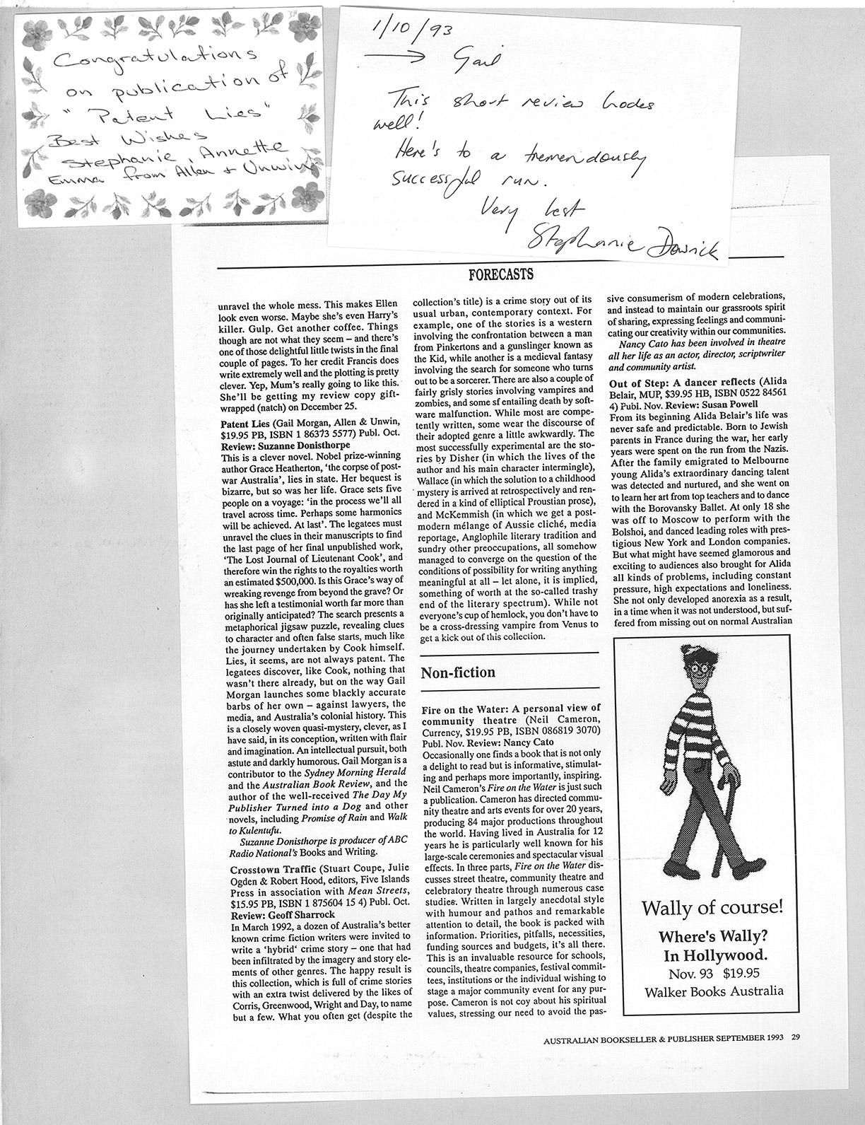 Australian Bookseller and Publisher – Review '93