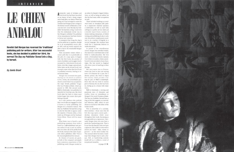 Le Chien Andalou – Vogue Magazine Interview