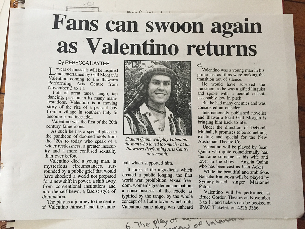 Fans can swoon again as Valentino returns