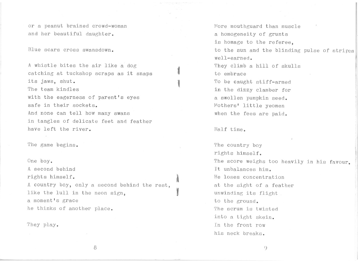 Gail Morgan Poetry